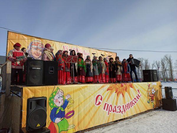 1 марта в селе Алтайское проходили Масленичные гулянья