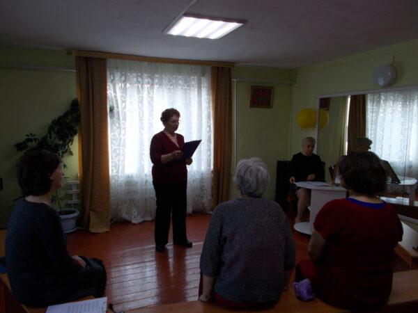Литературная гостиная в Катуни